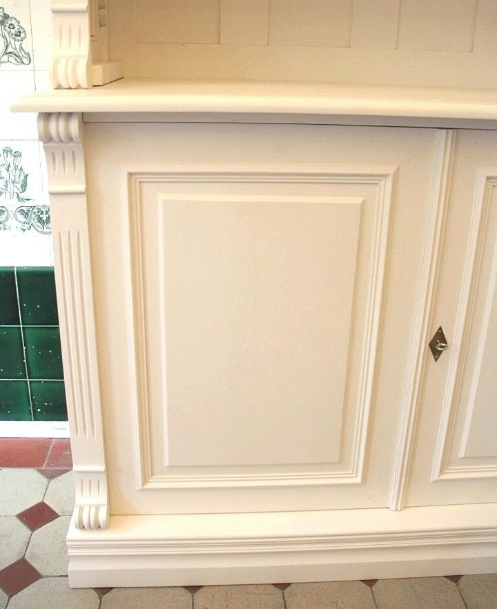 b cherregal wei mit t ren massivholz erle 250x240x40cm ebay. Black Bedroom Furniture Sets. Home Design Ideas