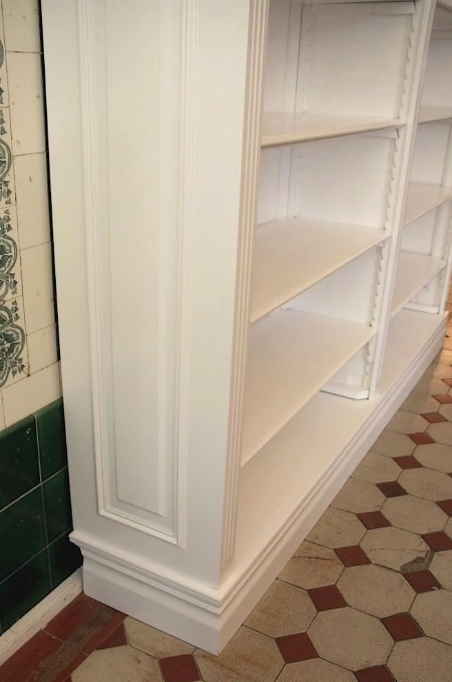 b cherregal wei massiv holz erle 240x200x35cm ebay. Black Bedroom Furniture Sets. Home Design Ideas